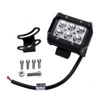 Factory Directly! Black Car AUTO Parts 4inch 18w Slim LED Work Light Accessories Auto Tractor Offroad Light