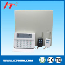 GSM security wireless home alarm system with LCD,microprocessor based alarm systems