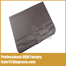 PU Leather Business Travel Portfolios with Calculator