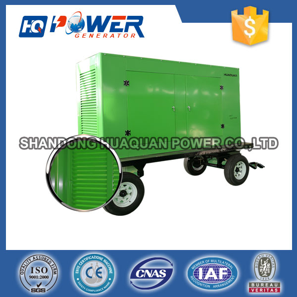 40kw power diesel generator carrier genset trailer
