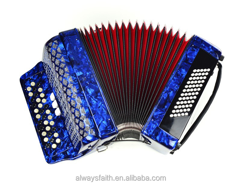Excellent sound best quality chromatic button accordion for sale