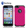 Wholesale rhinestone cell phone cases for iphone mobile
