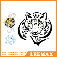 LM1056 Face paint tattoo stickers for body panther tattoo temporary tattoo