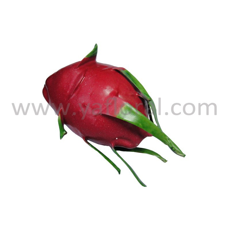 Artificial pitaya red dragon fruit for decorations