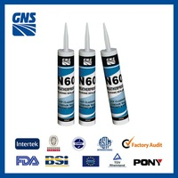 One part neutral cure weatherproof silicone sealant
