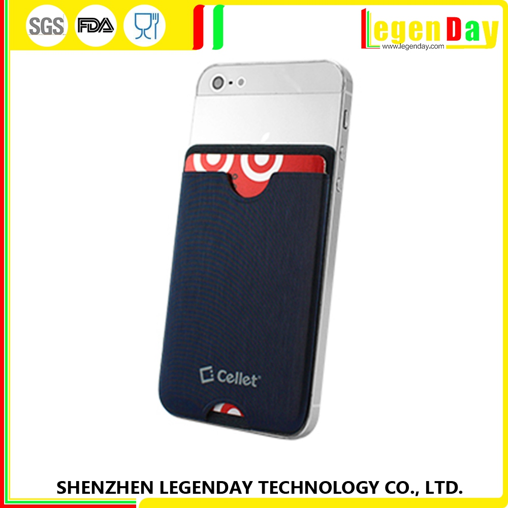 New Arrival silicone phone credit card case