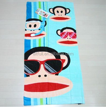 100% cotton promotional beach towel jacquard