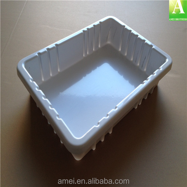 custom thick sheet vacuum forming plastic <strong>ABS</strong> medical tray