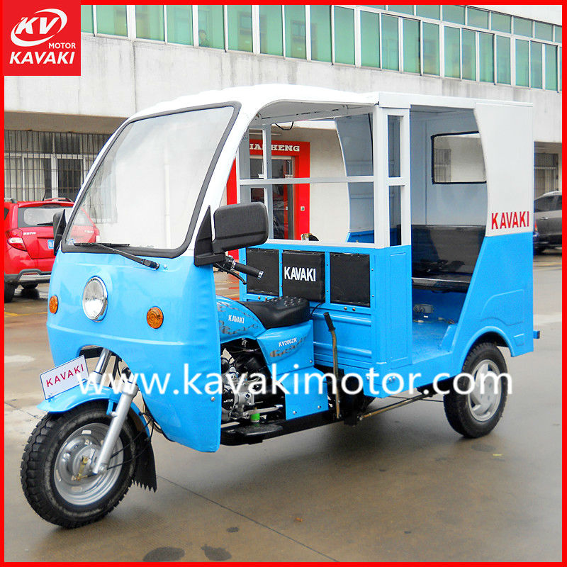 200cc Closed Scooter Trike Three Wheel Taxi For Sale
