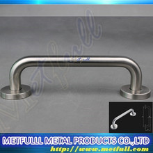 Single side glass shower door pull safety handle stainless steel handle for bathroom towel bar
