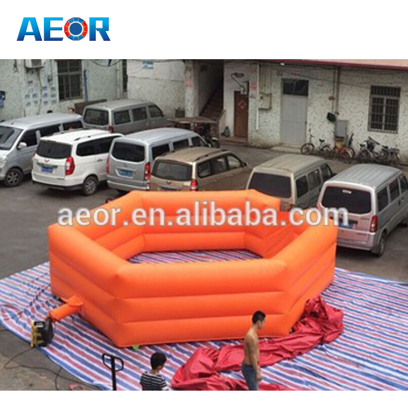 Custom made vertical air pressure air juggler inflatable potato games/ inflatable floating ball game with hover balls