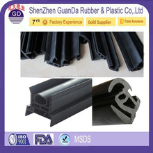 EPDM PVC waterproof sliding door rubber boot seals / TPE Door Rubber Waterproof Seal