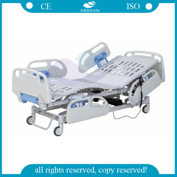 AG-BY101 CE&ISO approved Folding Electronic Electric Hospital bed for patient