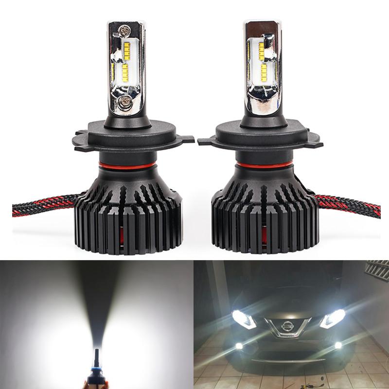 t8 led car headlight h7 h4 h8 h9 h11 h16 hb3 9005 hb4 9006 9012