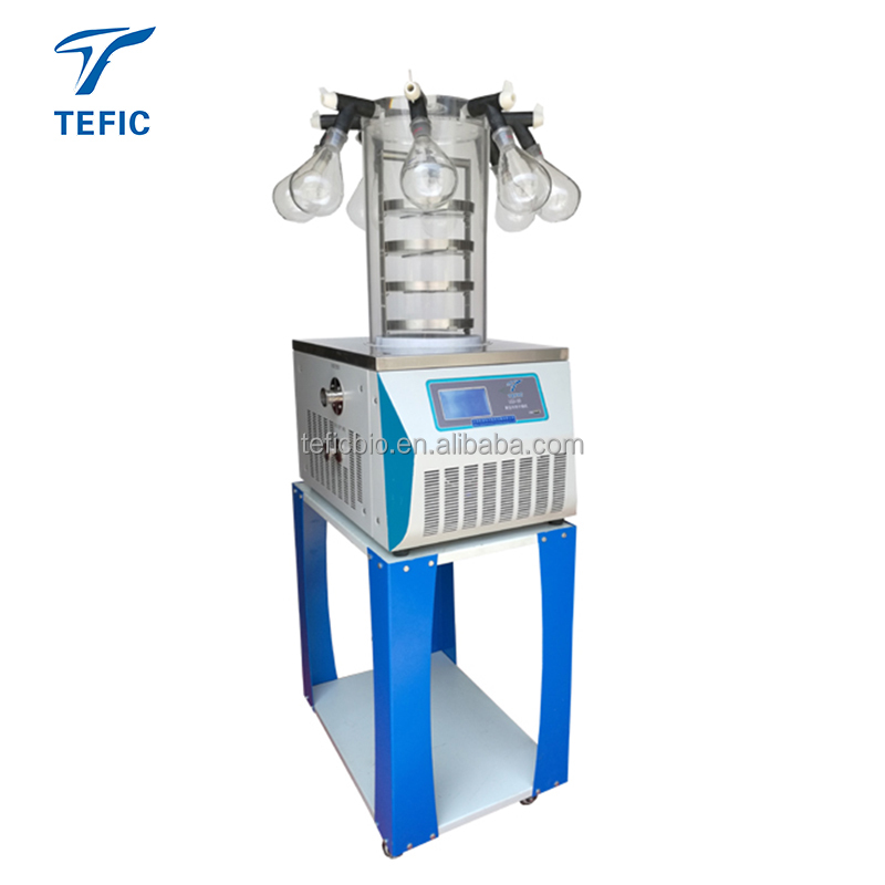 Mini freeze drying food equipment, small vacuum freeze dryer/used freeze drying for sale