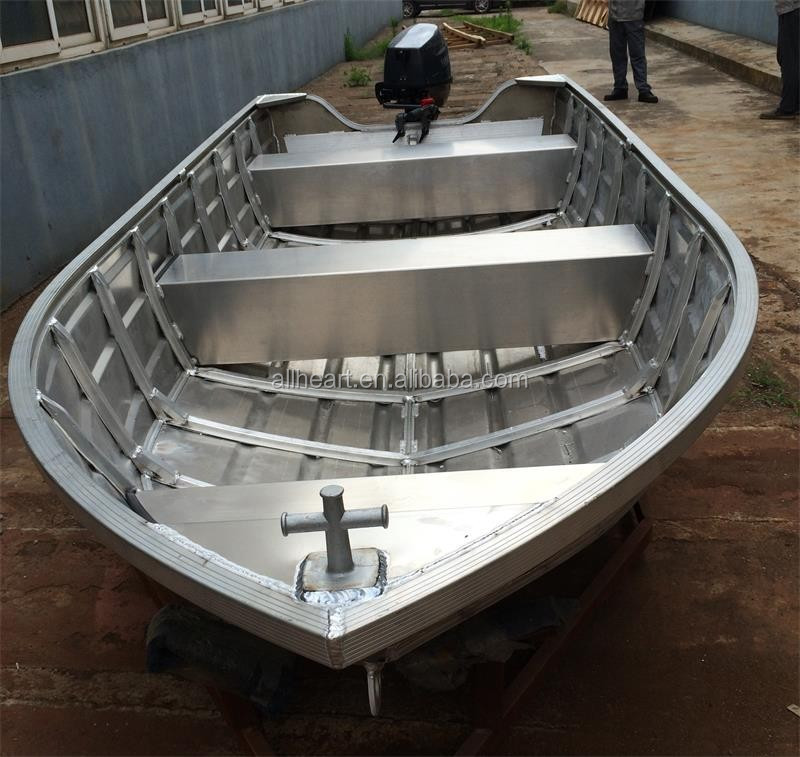 Small aluminum fishing boat with outboard engine buy Aluminum boat and motor packages