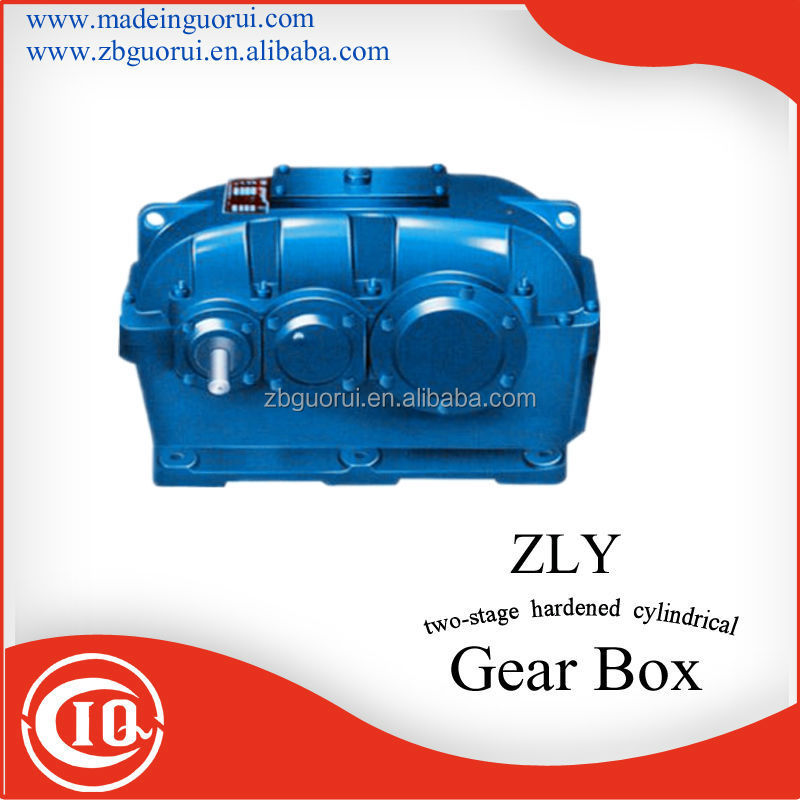 Zibo Boshan GVORVIZDY / ZLY / ZSY / ZFY series series Cement industrial cement mill vertical gearbox/reducer/gear box