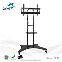 PRO MOBILE FLAT PANEL STAND MOUNT CART STATION MONITOR FAIR SHOW DISPLAY TV 60""