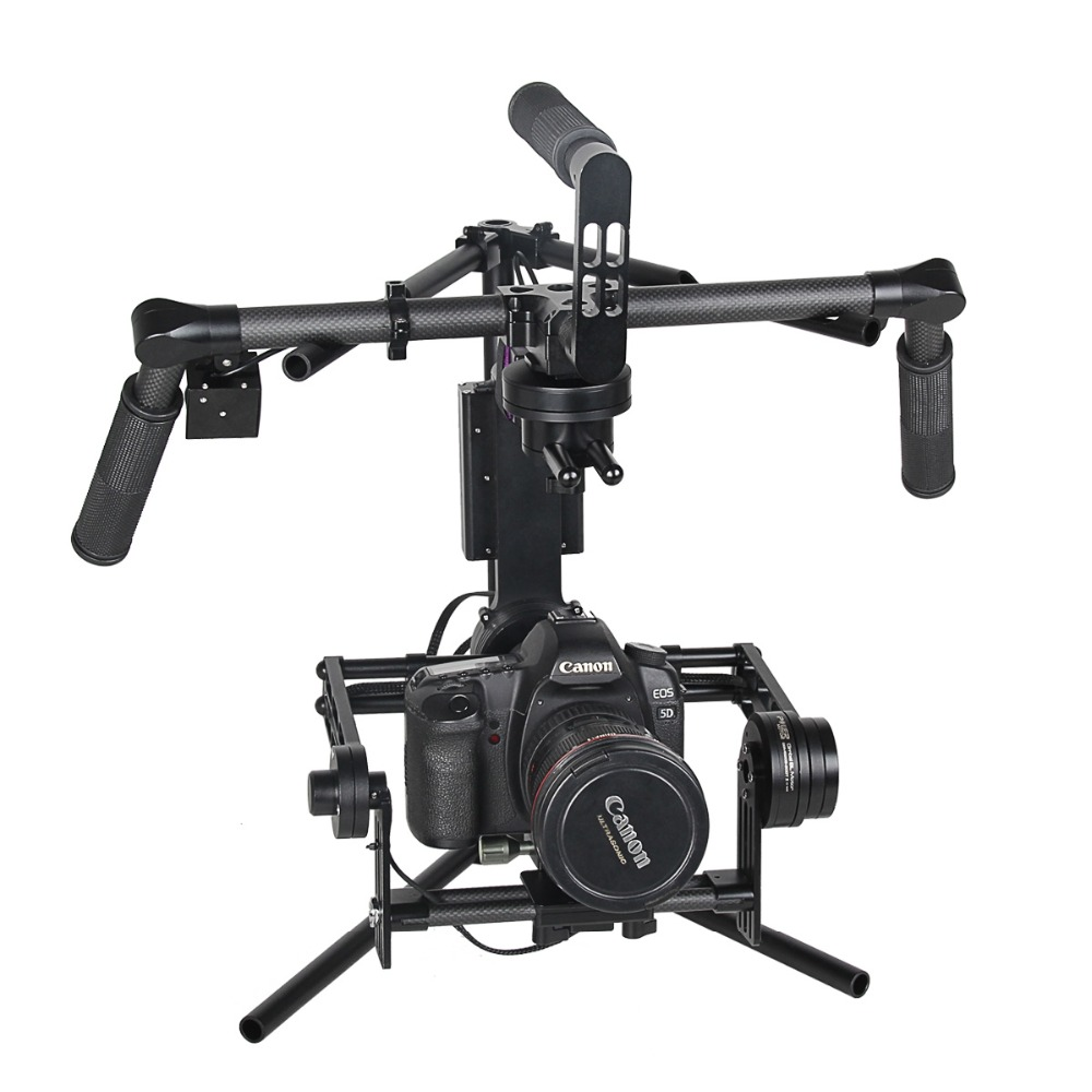 YELANGU 3-Axis Gimbal DSLR Handheld Stabilizer For GH4, 5D3, D3300