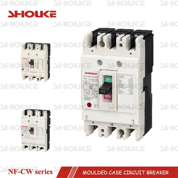 mccb moulded case circuit breaker SKW NF63-CW 3P 63A