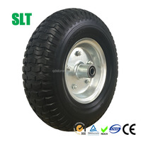 heavy duty 13*5.00-6 pu foam wheelbarrow wheel hand trolley tyre