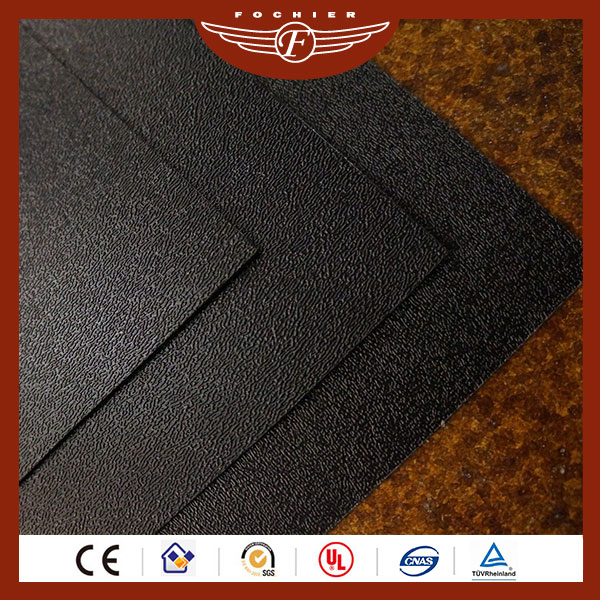 1mm Thick Plastic Coloured Black PVC Sheet