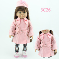 Fashional American doll clothes 18 inch doll clothes patterns