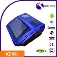 KZ680 android 4.0 3g bt tablet pos with magnetic card reader