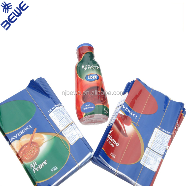 PVC Material Various Printing Wrapping Shrink Label