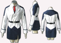 2014 Cosplay Fantasy Uniform lovely ladies Wholesale Magical Girl Lyrical Nanoha Costume Takamachi Cosplay Costume