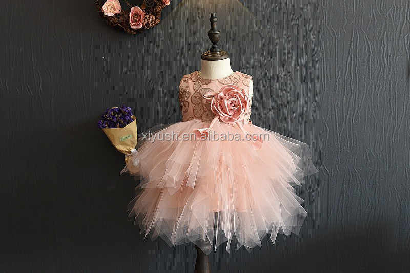 Fast supplier Hotsale picture of children casual dress