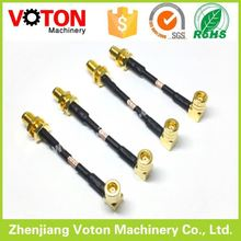 welding connector socket SMA male plug to SAM jack with RG316 cable assemble power jumper