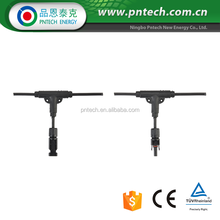 IP67 cetified TUV UL compatible MC4 solar connectors PV004-xto1 cable connector