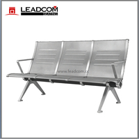 Leadcom steel 3 seat waiting area bench (LS-530L)