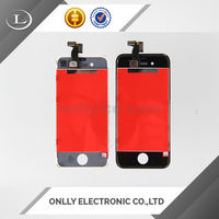 Flexible mobile phone for iphone 4 assembly touch screen
