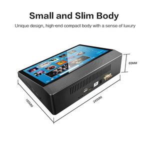 MINI PC with Touch Screen 4GB ram 32gb emmc Intel Cherry Trail Z8350 HDMI and COM Ports