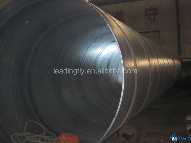 GB/T3091 spiral steel pipe for low pressure liquid delivery