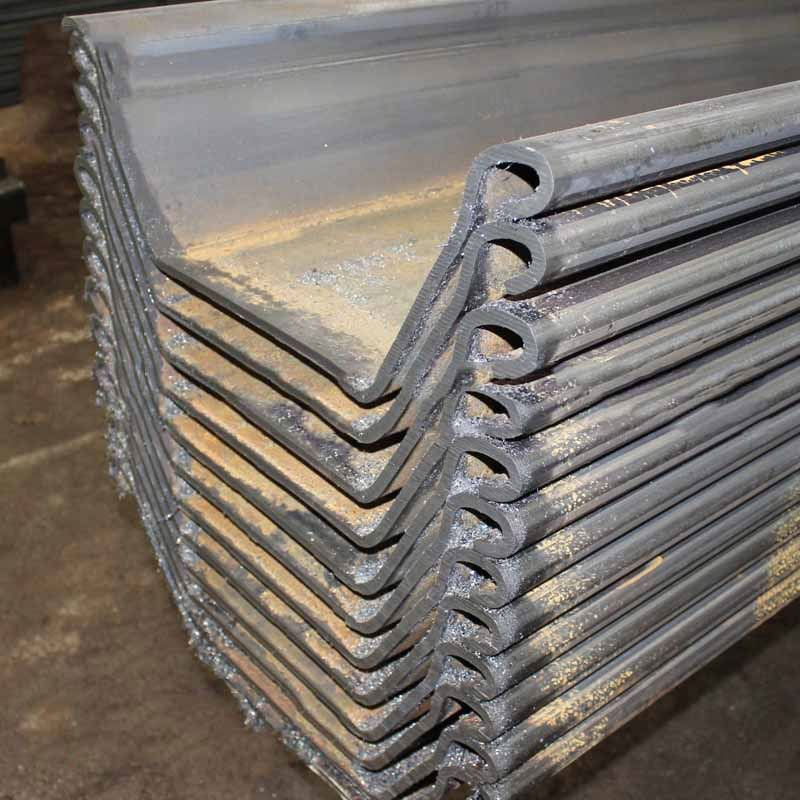 China price hot rolled steel sheet pipe pile with JIS standard
