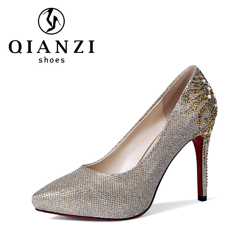 5450 ladies sexy glitter dress shoes fancy low heel pumps discount womens dress shoes