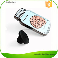 Promotional High Quality Metal Brain Shaped