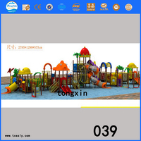 hot sale children water play equipment plastic water park slides for sale