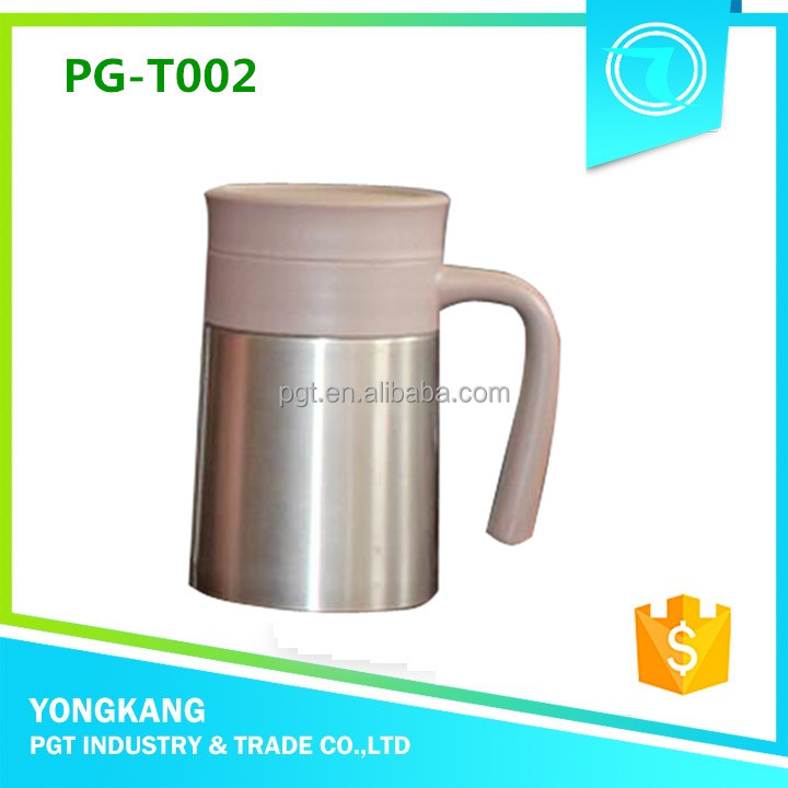 Hot PGT T002 tea mug small vacuum flask cup tea bottle water bottle names of kitchen pots cup set stainless steel teapot