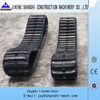 excavators rubber tracks,450x81x76 rubber belt for excavator, rubber shoe for vehicles