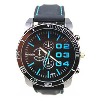 freeshipping high quality silicon band quartz vogue watch
