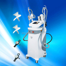 2014 on sale Cavitation lipo vacuum with 2 cryo handles body fat freeze machines