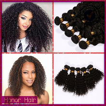Qingdao distributors wholesale natural color high quality peruvian jerry curl hair