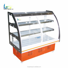 No pollution vegetable display refrigerator for restaurant or store, commercial display cooler