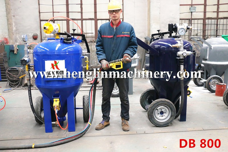 2017 portable dustless blasting industrial sandblasting machine