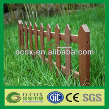 Outdoor Wood Plastic Composite (WPC) Picket Fence