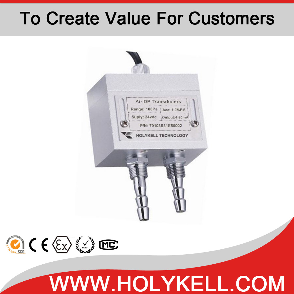 Holykell HPT701 High accuracy low cost differential gas pressure transmitter